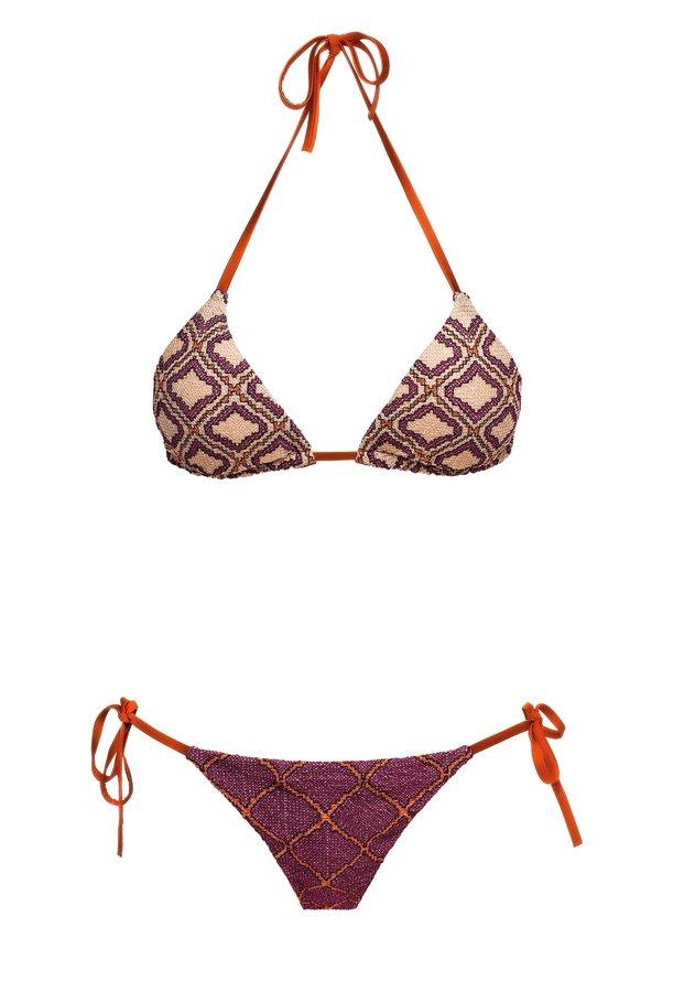 Sife Purple, Triangle Bikini, MITOS Swimwear