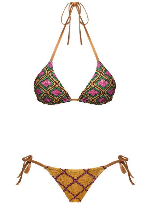 Sife Yellow, Triangle Bikini, MITOS Swimwear