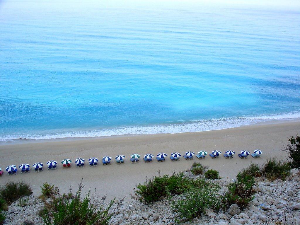 Eggremni beach, Lefkada