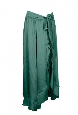 Mitos_Resort2018_Volan_Skirt_Green