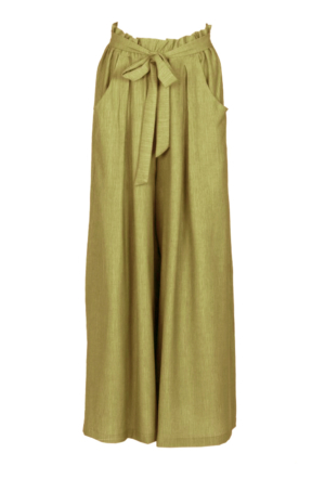 ANGY WRAP TROUSERS GREEN