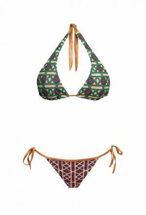 MITOS Geo bikini in Purple