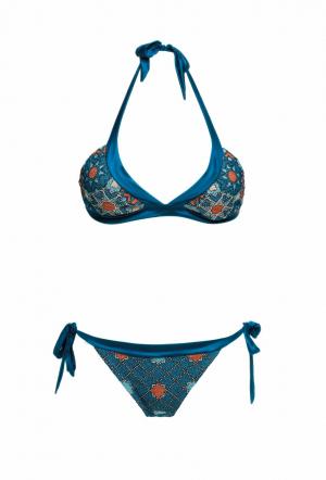 MITOS Starlight bikini in Petrol